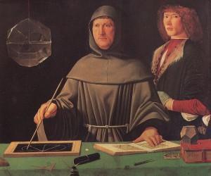 Luca_Pacioli_Gemaelde by Jacopo de' Barbari circa 1496