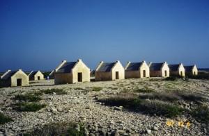 Slave dwellings on Bonaire