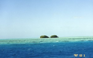 Pristine rock formations of the Los Roques Archipelago in the Carribean