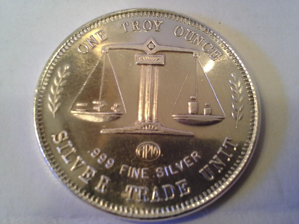 1 Oz 999 Fine Silver Apm Uss Constitution Silver Trade