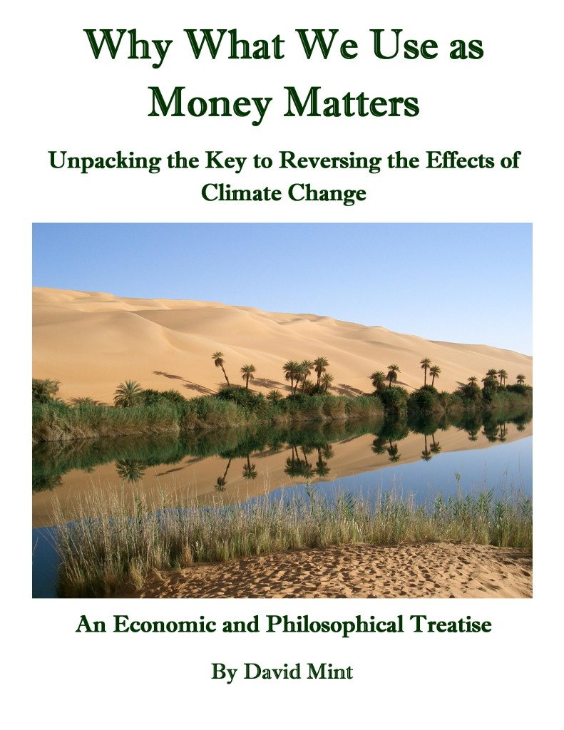 Why What We Use as Money Matters
