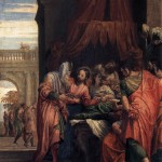 Raising of Jairus' Daughter by Paolo Veronese, 1546. Mark 5:21–43, Matthew 9:18–26, Luke 8:40–56